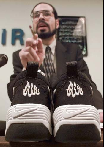 NIKE and PUMA wrote Allah